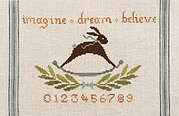 Imagine Dream Believe - Cross Stitch Pattern