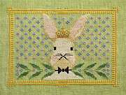 Regal Rabbit - Cross Stitch Pattern