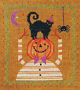 Happy Halloween Companions - Cross Stitch Pattern
