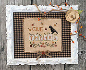 Thankful Pumpkins - Cross Stitch Pattern