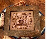 Family Friends Faith Forever - Cross Stitch Pattern