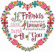 Flower Friends - Cross Stitch Pattern