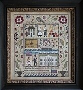 Heritage Sampler - Cross Stitch Pattern