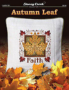 Autumn Leaf - Cross Stitch Pattern