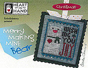 Merry Making Mini - Bear - Cross Stitch Pattern
