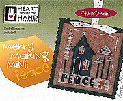 Merry Making Mini - Peace - Cross Stitch Pattern