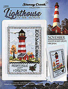 Lighthouse of the Month November - Cross Stitch Pattern