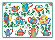 Lots of Pots - Cross Stitch Pattern
