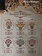 Giardino D'Autunno (Autumn Garden) - Cross Stitch Pattern