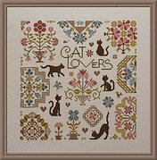 Cat Lovers - Cross Stitch Pattern