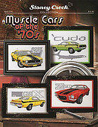 Muscle Cars of the 70's - Cross Stitch Pattern