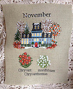 November - Cross Stitch Pattern