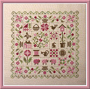 Patchwork Printemps - Cross Stitch Pattern