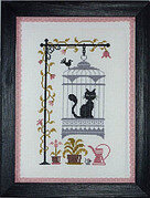 Chat Va Pas Chat - Cross Stitch Pattern
