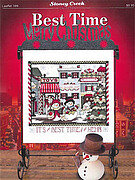 Best Time Merry Christmas - Cross Stitch Pattern