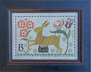 B is for Bunny - Cross Stitch Pattern