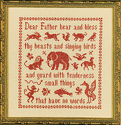 Antique Beasts & Birds - Cross Stitch Pattern