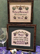 Wine Musings - Cross Stitch Pattern