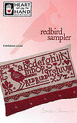 Redbird Sampler (w/embellishments) - Cross Stittch Pattern