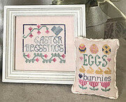 Easter Blessings - Cross Stitch Pattern