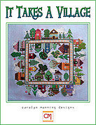 It Takes a Village - Cross Stitch Pattern