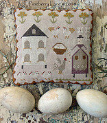 Mrs Maguire's Hen House - Cross Stitch Pattern