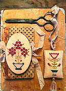 Mary's Garden Needle Book & Fob - Cross Stitch Pattern