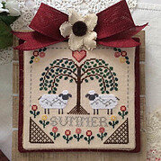 Sheltering Tree - Summer - Cross Stitch Pattern