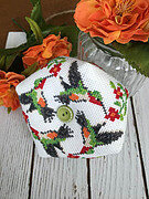 Hummingbird Biscornu - Cross Stitch Pattern