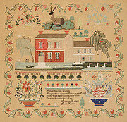 Sarah Haines Sampler - Cross Stitch Pattern