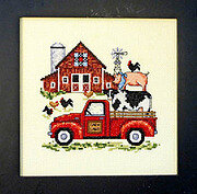Barnyard Fun - Cross Stitch Pattern