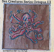 Sea Creatures Series 3 - Octopus - Cross Stitch Pattern