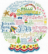 Let's Have Fun In The Sun - Cross Stitch Pattern