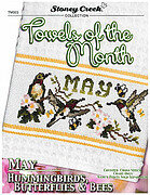 Towels of the Month May - Cross Stitch Pattern