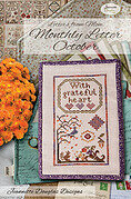 Letters From Mom 3 - October - Cross Stitch Pattern