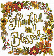 Thankful & Blessed - Cross Stitch Pattern