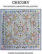 Chicory (Garden Labryinth Collection) - Cross Stitch Pattern