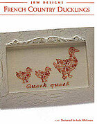French Country Ducklings - Cross Stitch Pattern