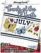 Towels of the Month - July - Cross Stitch Pattern