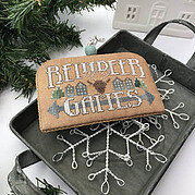 Reindeer Games (White Christmas) - Cross Stitch Pattern