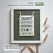 Irony (Laundry Company 3) - Cross Stitch Pattern