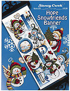 Hope Snowfriends Banner - Cross Stitch Pattern