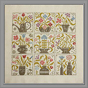 Festival De Fleurs - Cross Stitch Pattern