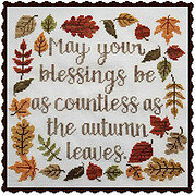 Autumn Blessing - Cross Stitch Pattern