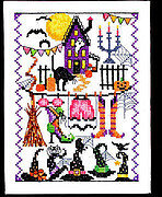 Witchy Wacky Accessories - Cross Stitch Pattern