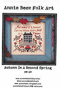 Autumn is a Second Spring - Cross Stitch Pattern