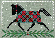 Horse Country Holiday - Cross Stitch Pattern