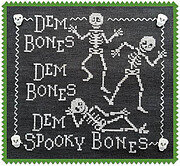 Dem Bones - Cross Stitch Pattern