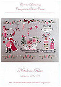Natale in Rosa (Christmas in Pink) - Cross Stitch Pattern