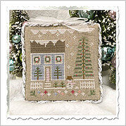 Glitter House 1 - Cross Stitch Pattern